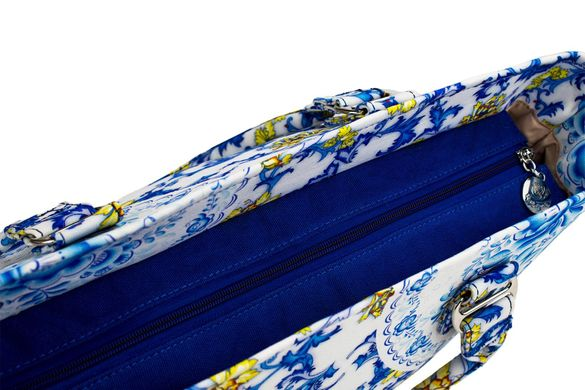 9fa693354fcc Сумка пляжная SM003-10 фарфор купить в Украине по цене 575 грн.