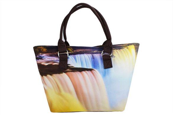 9725262bf0ba Сумка пляжная SM003-11 водопад купить в Украине по цене 575 грн.