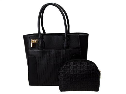 a37a35096fa2 Набор сумок B777-6 черный (сумка+клатч) купить в Украине по цене 551 ...
